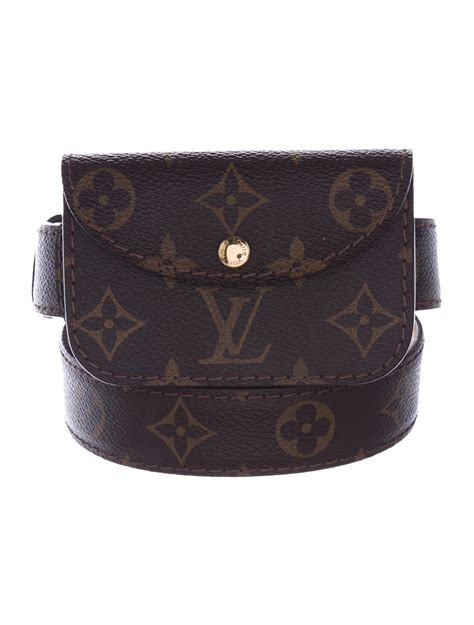 louis vuitton monogram belt bag bags lou