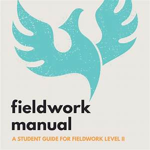 Ot Fieldwork Manual  Ready