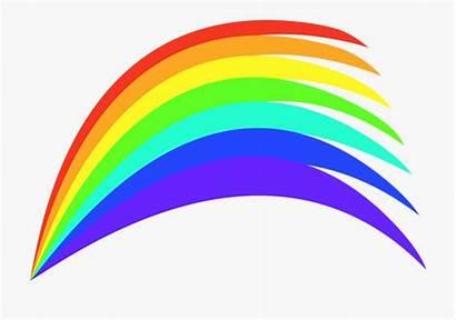 Rainbow Colours Clip Colourful Clipart Graphic Colors