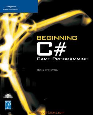 beginning  sharp game programming    book