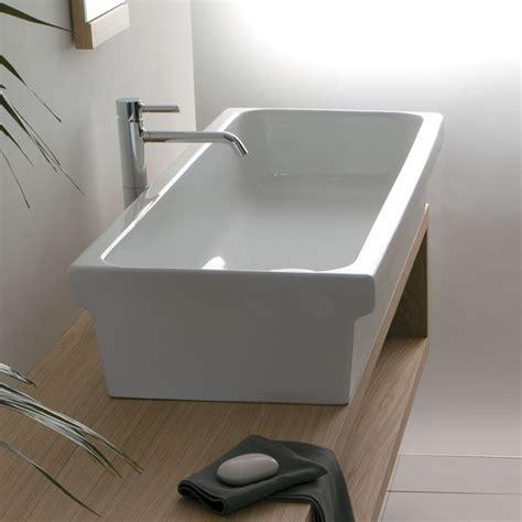 lavello per lavanderia lavabo d appoggio o sospeso a canale 120 x 45 x 20 cm per