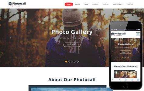 capturing  photo gallery category bootstrap responsive