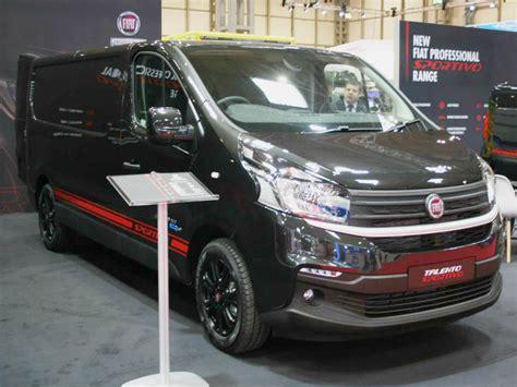fiat talento sportivo new fiat professional sportivo range business vans