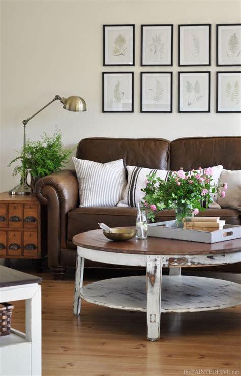 ideen für schiebevorhänge landhaus wohnzimmer moderne zimmer braunen vorh 228 nge
