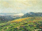 Silver And Gold Artwork By Granville Redmond Oil Painting ...