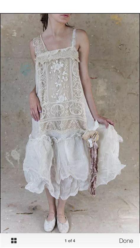 Dreamy Shabby Chic Dress Boheme Pinterest