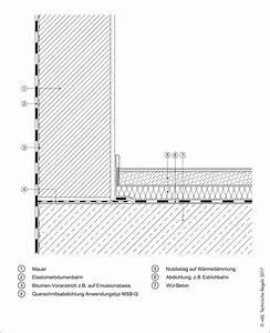 Abdichtung Gegen Drückendes Wasser : konstruktive hinweise details die bitumenbahn ~ Orissabook.com Haus und Dekorationen