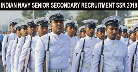 Indian Navy Sailor Recruitment 2018 Ssr