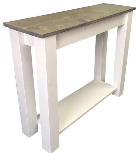 farmhouse console table cottage sofa table farmhouse console tables by ezekiel stearns