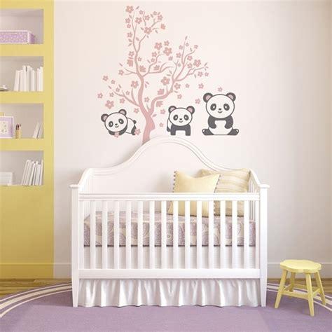 vinilo infantil de ositos panda papel pintado infantil