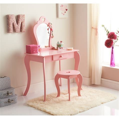 Amelia Vanity Set   Bedroom   Children's Furniture   B&M