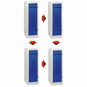 Casier De Vestiaire : casier vestiaire individuel monobloc modulable ~ Edinachiropracticcenter.com Idées de Décoration