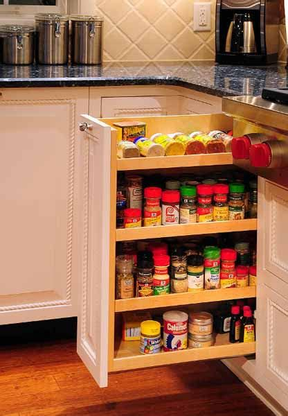 modern kitchen accessories  spices storage