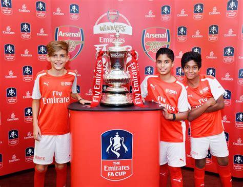 Arsenal FC brings the Emirates FA Cup to Dubai