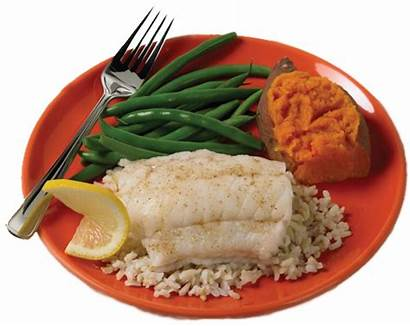 Fish Dinner Healthy Eating Eat Plate Health