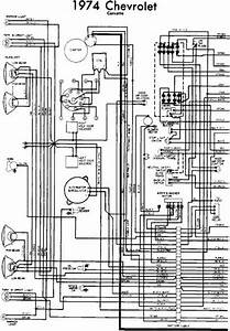 Wiring Diagram Of 1974 Chevrolet Corvette Part 1  60936