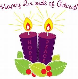 Happy 1 Advent : happy 2nd week of advent hope peace candles ~ Haus.voiturepedia.club Haus und Dekorationen