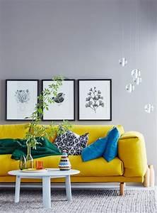Salbei Farbe Wand : wohnideen mit farben einrichten und dekorieren mit gelb ~ Michelbontemps.com Haus und Dekorationen