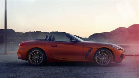 2019 bmw z4 roadster new 2019 bmw z4 roadster leaks ahead of official pebble