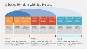 3 Stages Template With Sub Process