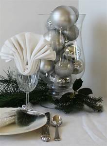 Deco Noel Blanc : decoration de noel blanc et argent ~ Teatrodelosmanantiales.com Idées de Décoration
