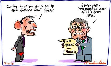 Boat People Tony Abbott by Nauru Five Years Scott Morrison Tony Abbott Asylum Seekers