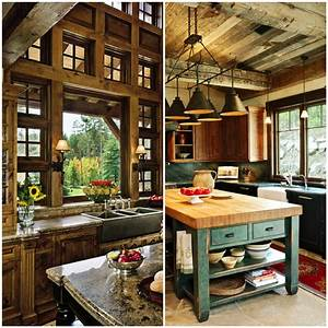 Cozy, Rustic, Kitchens, Worthy, Of, A, Mountain, Lodge
