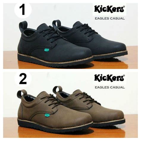 kickers santai1 001 sepatu kickers sepatu casual pria sepatu santai 001 elevenia