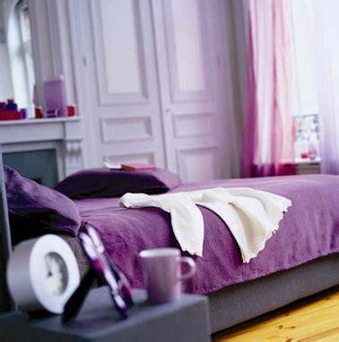 chambre a coucher violet et gris 8 idées peinture pour une chambre d 39 adulte avec du violet