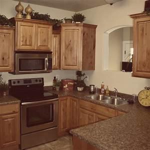 Glazed RTA Cabinets Knotty Alder Cabinets