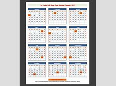 Sri Lankan Full Moon Poya Day Holiday 2015 – Holidays Tracker