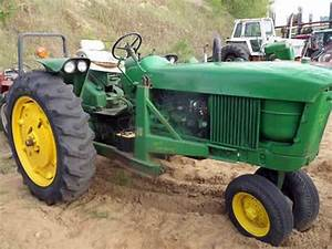 John Deere 2510 Tractor Salvaged For Used Parts  This Unit