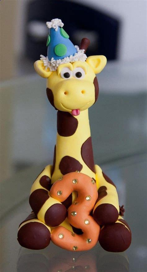cute boy giraffe cake topper  artsinhand  etsy