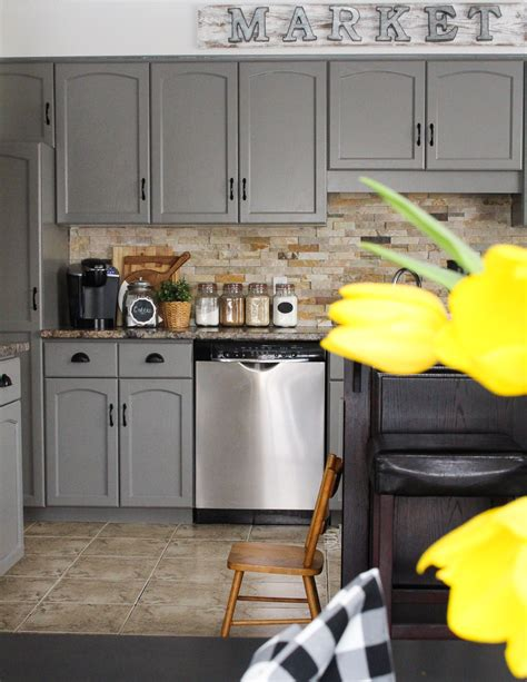 Our Kitchen Cabinet Makeover