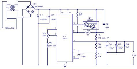 Circuit Adjustable Regulator Using