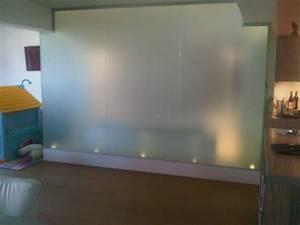 Paroi Douche Verre Sablé : vitrage de salle de bain parois de douche verre ~ Premium-room.com Idées de Décoration