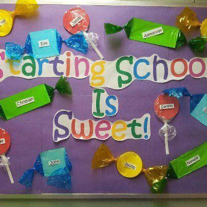 preschool bulletin board ideas for back to school starting school is sweet back to school bulletin board idea 926
