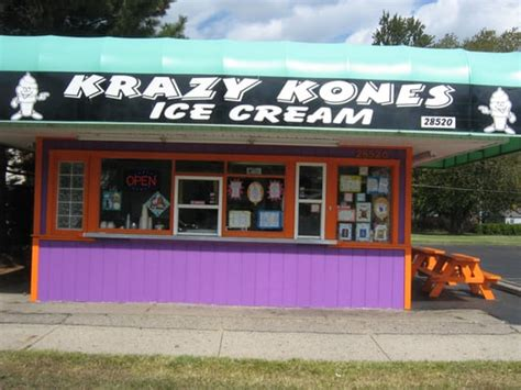 Krazy Kones Ice Cream  Closed  Ice Cream & Frozen