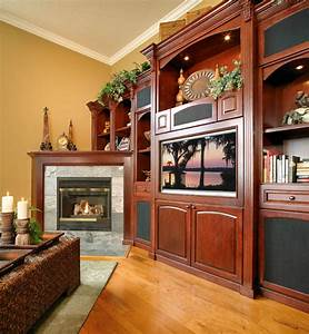 Traditional wall unit with fireplace for Traditional wall unit with fireplace