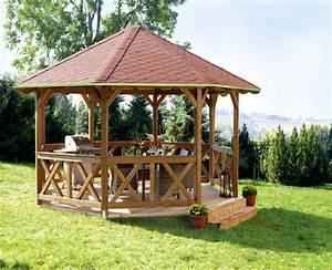 Pavillon Holz Selber Bauen : 50 gartenlauben aus holz gartenpavillon selber bauen new ~ Michelbontemps.com Haus und Dekorationen