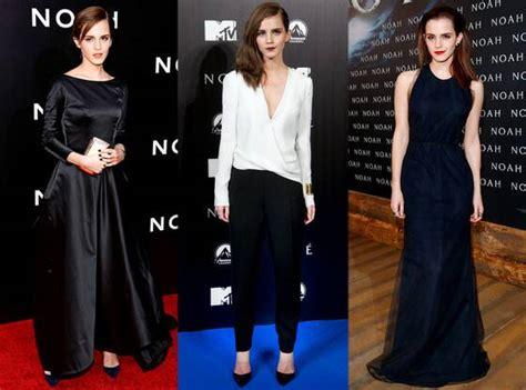 Emma Watson Best Noah Premiere Looks Which Outfit