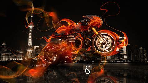 bmw rs fire moto city  el tony