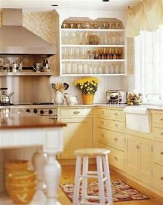 yellow kitchen cabinets 1523
