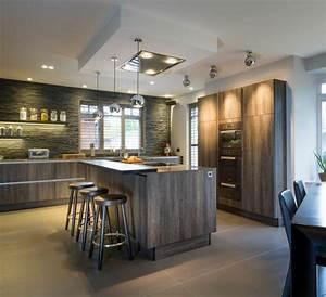 Idees cuisine focus sur la cuisine chalet moderne for Idee deco cuisine avec cuisine bois