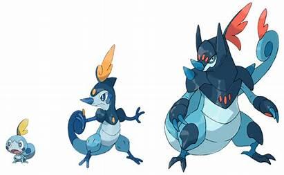 Sobble Evolution Deviantart Grookey Pokemon Fake Concept