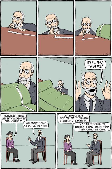sigmund freud existential comics