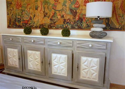 repeindre ses meubles de cuisine en bois buffet relooké louis xiii decor 39 in idées conseils
