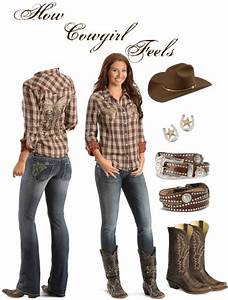 How u0026quot;Cowgirlu0026quot; Feels | Pinterest | Polyvore Clothes and Country girls