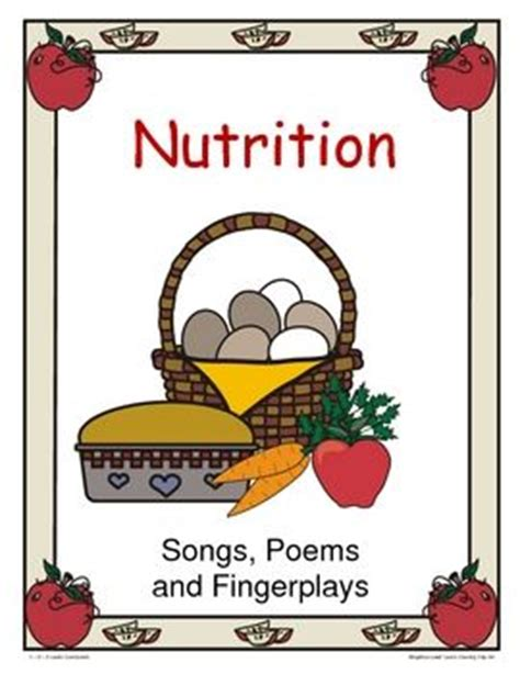 nutrition songs poems and fingerplays may foods 653 | 01c91b3c568719853bf0b08d7c61fd27 preschool food preschool songs