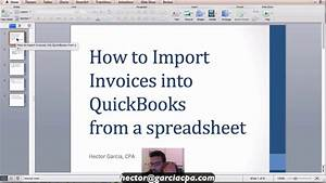 importing invoices into quickbooks accountant from excel With how to import invoices into quickbooks from excel